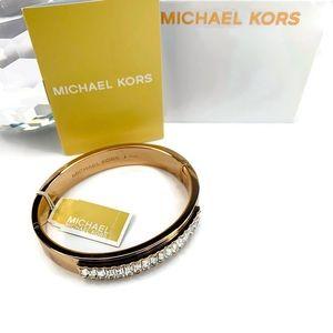 Michael Kors Black Friday Bangle Bracelet Crystals